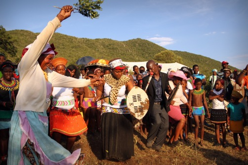 A traditional Zulu wedding in the 21st century ...