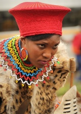 To be a Zulu bride ...