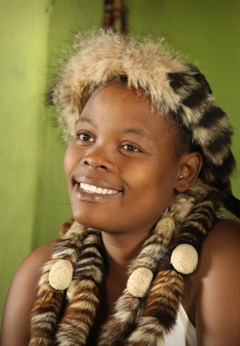 A young Zulu lady ...